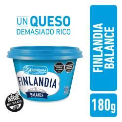Queso Untable Balance Bajo en Sodio Finlandia x 180 g.