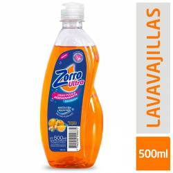 Detergente Liquido Naranja y Jeng. Zorro x 500 cc.