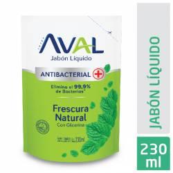 Jabón Líquido Antibacterial Frescura Nat Dp Aval x 230 g.