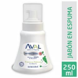Jabón Líquido Antibacterial Frescura Nat Bot Aval x 250 g.
