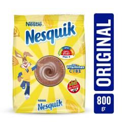 Alimento en Polvo A Base de Cacao Nesquik x 800 g.