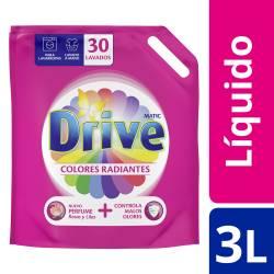 Jabón Liquido Ropa Colores Radiantes Drive x 3 Lt.
