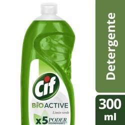 Detergente Cif Limón Verde x 300 ml.