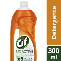 Detergente Cif Frutas Cítricas x 300 ml.
