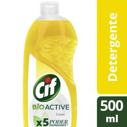 Detergente Cif Limón x 500 ml.