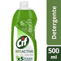 Detergente Cif Limón Verde x 500 ml.
