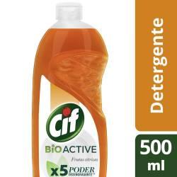 Detergente Cif Frutas Cítricas x 500 ml.