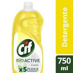 Detergente Cif Limón x 750 ml.