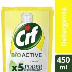 Detergente Cif Limón Recarga x 450 ml.