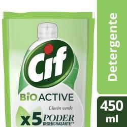 Detergente Cif Limón Verde Repuesto x 450 ml.