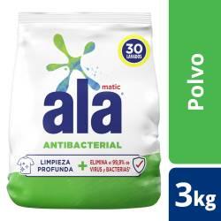 Jabón Polvo Be Antibacterial Ala Matic x 3 Kg.