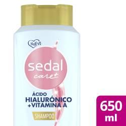 Shampoo Hialuronico y Vitamina A Sedal x 650 cc.