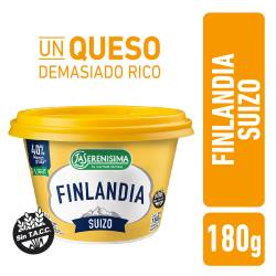 Queso Untable Suizo Light Finlandia x 180 g.