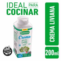 Crema UAT Ideal para Cocinar Liviana La Serenísima x 200 cc.