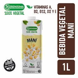 Preparado Vegetal Bebible con Maní La Serenísima x 1 Lt.