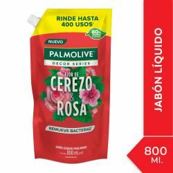 Jabón Liquido Flor de Cerezo & Rosa Palmolive x 800 cc.