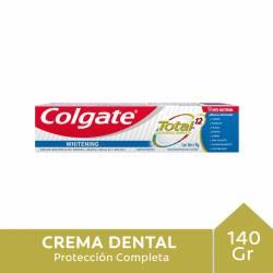 Crema Dental Total 12 Whitening Colgate x 140 g.