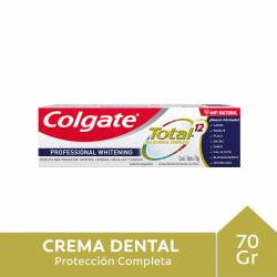 Crema Dental Professional Whitening Colgate x 70 g.