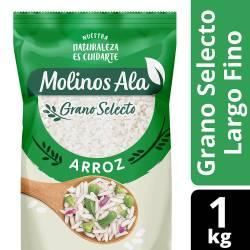 Arroz Grano Selecto Largo Fino Molinos Ala x 1 Kg.