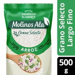 Arroz Grano Selecto Largo Fino Molinos Ala x 500 g.