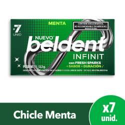 Chicles Infinit Menta Beldent x 7 un.