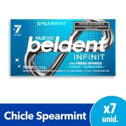 Chicles Infinit Spearmint Beldent x 7 un.