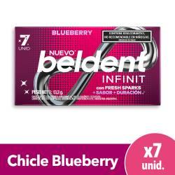 Chicles Infinit Blueberry Beldent x 7 un.