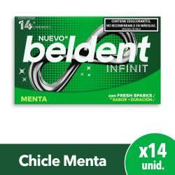 Chicles Infinit Menta Beldent x 14 un.