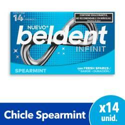 Chicles Infinit Spearm Beldent x 14 un.