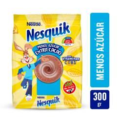 Cacao Fortificado menos Azúcar Nesquik x 300 g.