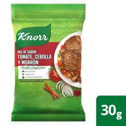 Mix Saborizante Tomate Cebolla Morrón Knorr 4 sobres x 30 g.