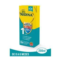 Formula Láctea 1 Omega 3 y 6 UAT Nidina x 200 cc.