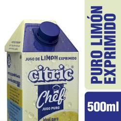 Jugo de Limón Exprimido Citric x 500 cc.