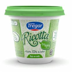Ricotta Magra Pote Tregar x 290 g.