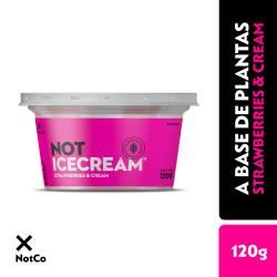 Mezcla Helada Strawberries & Cream Not Ice x 120 g.