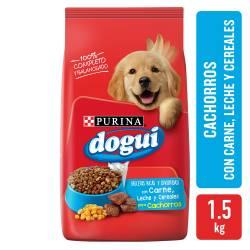Alimento Perros DOGUI Ppy Flv MeatCerealsMilk x 1,5 kg.